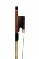 A German Nickel-Mounted Violin Bow by H.R. Pfretzschner