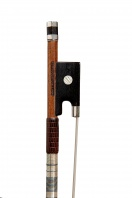 A French Silver-Mounted Violin Bow