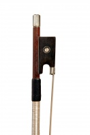 41 A French Nickel-Mounted Violin Bow