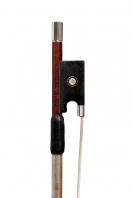 5 A French Silver-Mounted Violin Bow by Benoit Rolland