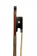 A German Silver-Mounted Violin Bow by Bausch