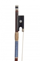 A French Nickel-Mounted Violin Bow by Marc Laberte