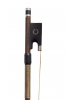 An English Silver-Mounted Viola Bow by Garner Wilson