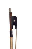 A French Silver-Mounted Violin Bow by Gustave Villaume