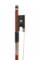 A Silver-Mounted Viola Bow