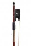 A German Silver-Mounted Violin Bow by Albert Nurnberger