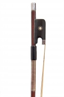 A French Silver-Mounted Violin Bow by Charles Nicolas Bazin