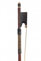 An English Gold-Mounted Violin Bow by W. E. Hill & Sons
