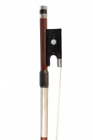 A French Silver-Mounted Violin Bow by Pierre Maline