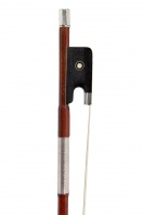 A French Silver-Mounted Violin Bow by Morizot Freres