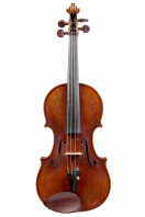 An English Violin by Christopher Rowe, Isle of Wight 1992