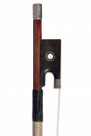 A Silver-Mounted Violin bow by Marcel Fetique