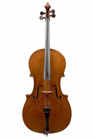 An English Cello by John W. Owen, Leeds 1903