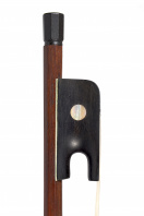 A Very Fine English Ebony-Mounted Cello Bow by a member of the Dodd Family