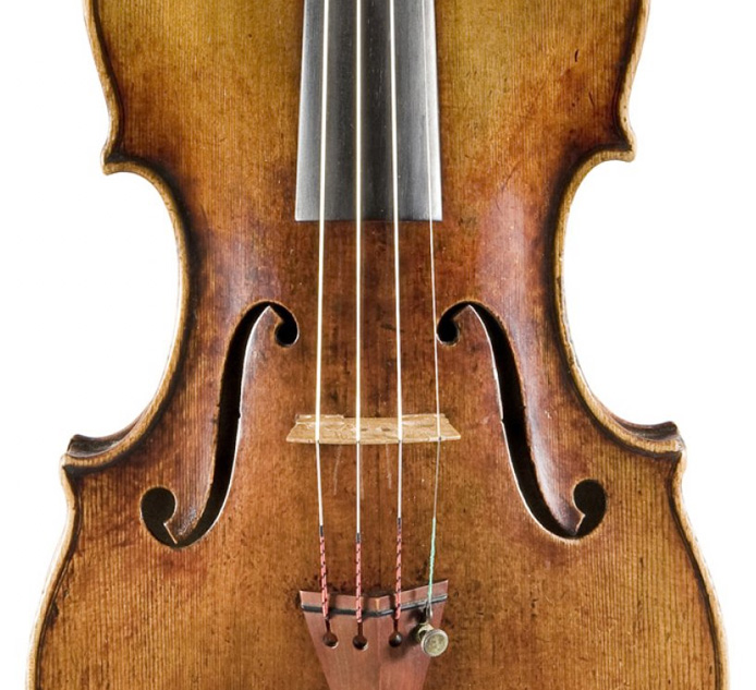 Lot 90: A Very Fine Italian violin by Pietro Giacomo Mantegazza, Milan circa 1770
