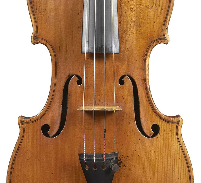 A Very Fine Italian Violin by Giuseppe Rocca, Turin 1848, After Stradivarius